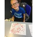Matas's sunshine dot painting