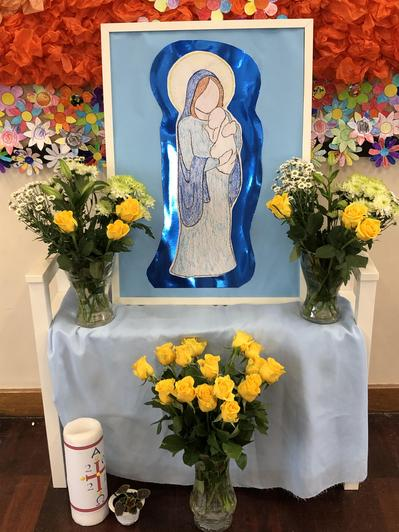 May is the month when we celebrate Mary, the mother of Jesus