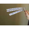 attach your sentences to a stick and twirl