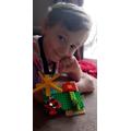 Isaac- Lego story creating.