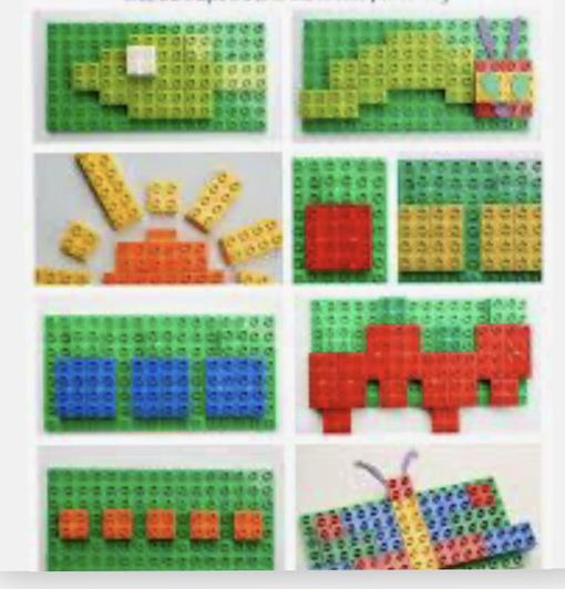 Lego is one way to be creative!