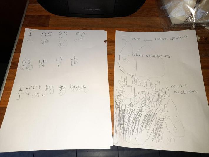 Noah's word learning.