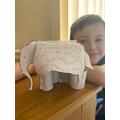 Aiden's elephant