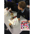 Adding colour to our patterns