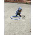 We made outdoor art