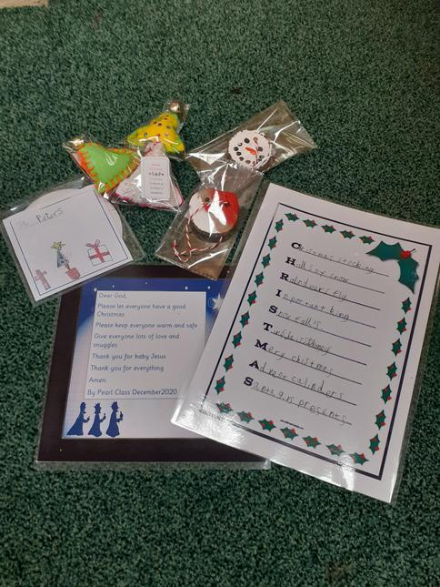 Items in our Christmas Pack.