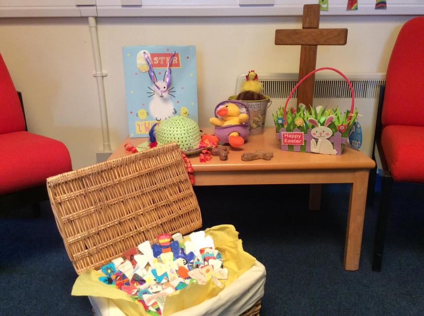 Easter gifts for our service.