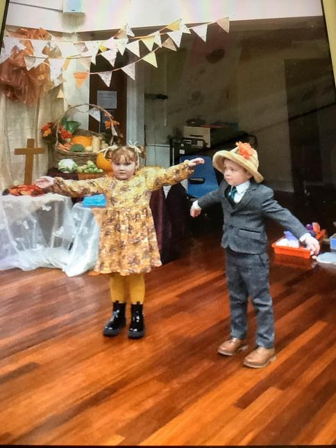 Our Scarecrow Wedding