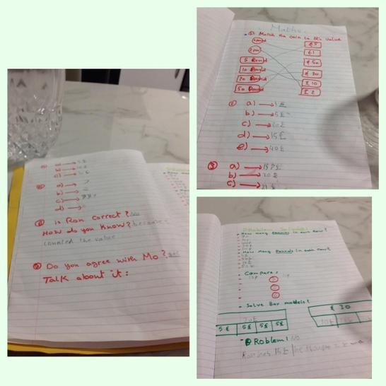Lujien - Maths work