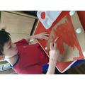 Painting my Roman shield