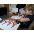Creating my masterpieces for VE Day