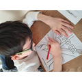 Colouring my VE Day posters