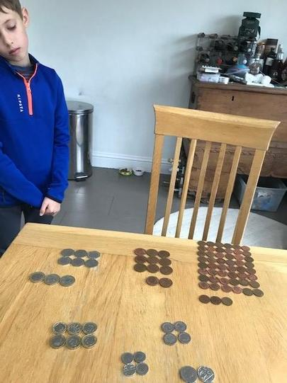 Usimg money to make arrays
