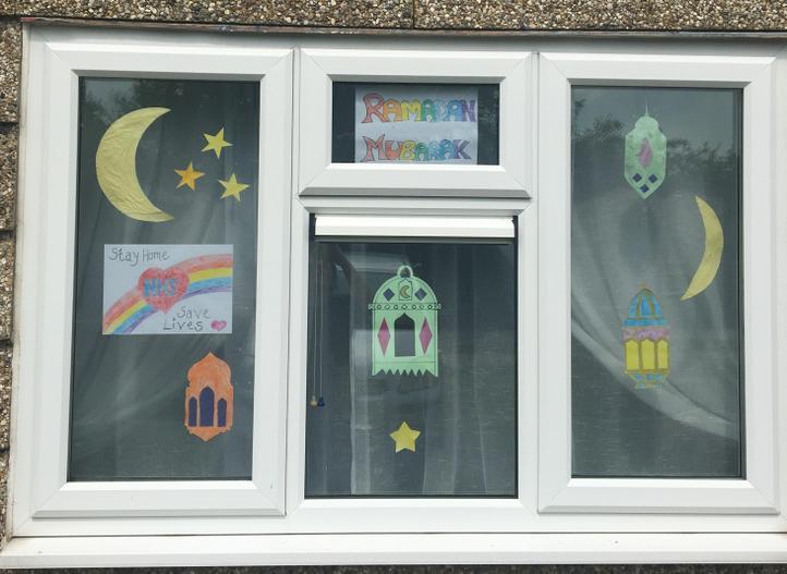 Decorating for Lantern week as it is Ramadan