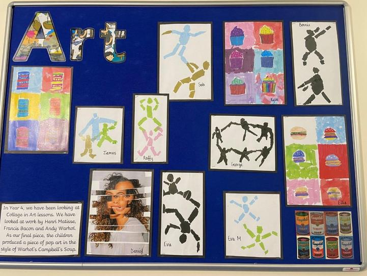 I feel so proud of the children's amazing art work that they produced last half term.