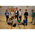 Badminton with Mrs Francis