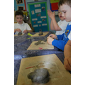 making their own creature out of clay
