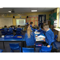 Children have been busy learning about Roman Gladiators, creating posters and role play.