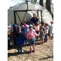 Exploring the school garden