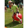 hopper bouncing