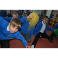 Having fun through movement and dance
