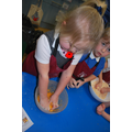 Cookery Club fs2 with Miss Waters and Mrs Khan