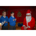 Thank you Father Christmas for visiting us.
