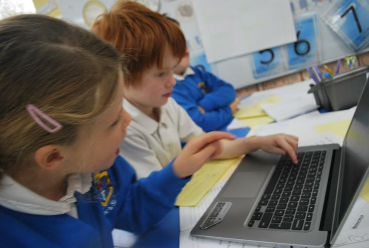 using ICT in their literacy lesson