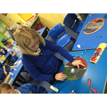 Children have been busy designing and creating their very own Roman and Celtic Shields.