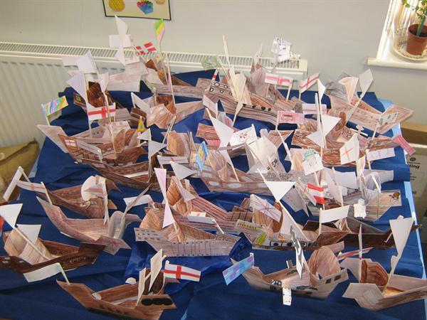 Year 4 - Tudor ships