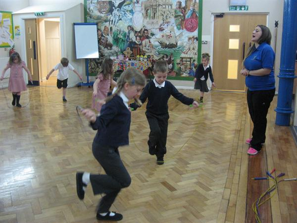 Our fantastic skipping day!