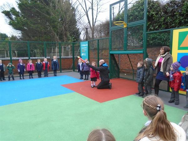 Our very own rocket launch.