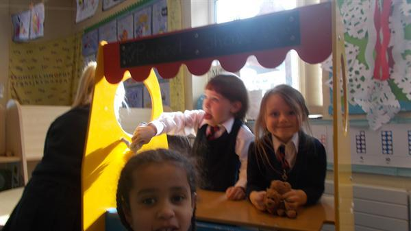 The puppet show is open!!