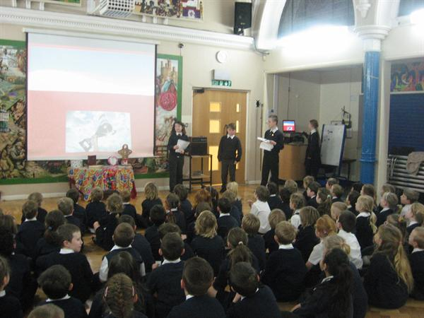 Bronze Ambassdors delivered a fantastic assembly!