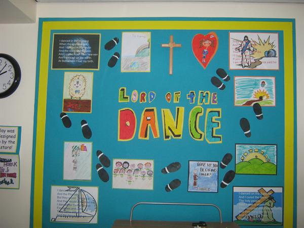 LORD OF THE DANCE - designed by Yr 6 pupils