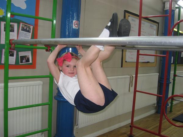 Balancing in Gymnastics
