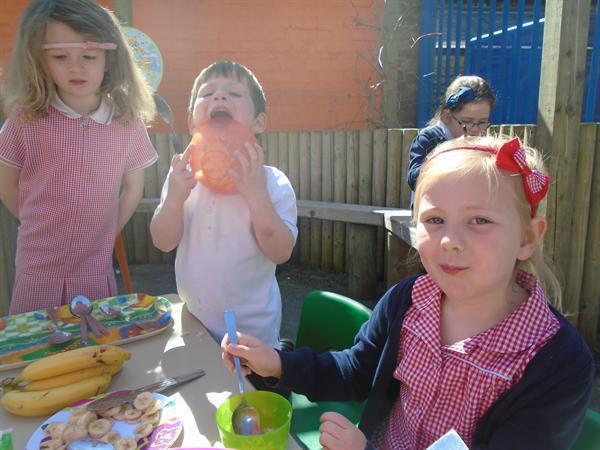 Tasting the bears porridge