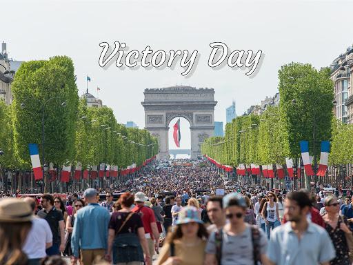 Champs Elysees VE Day 2019