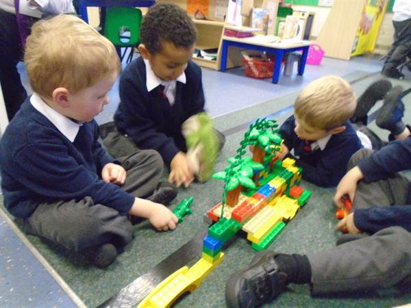 Building bridges for The THree BIlly Goats Gruff