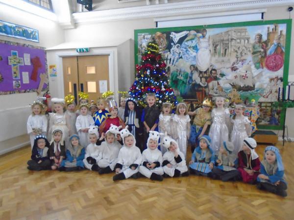 Our nativity - The Sleepy Shepherds