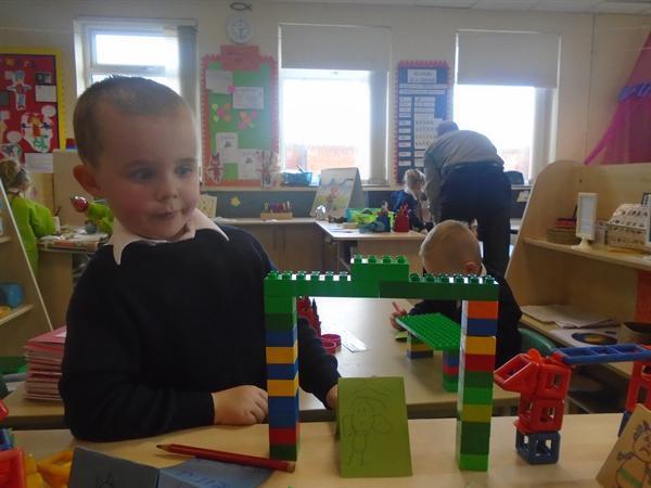 Bridge building!