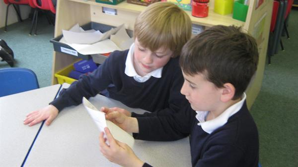 Reading our stories to Year 2