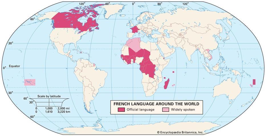 French Language Around The World
