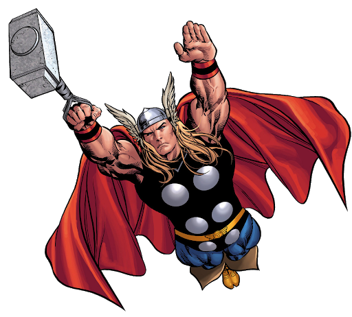Thor With His Magic HAmmer
