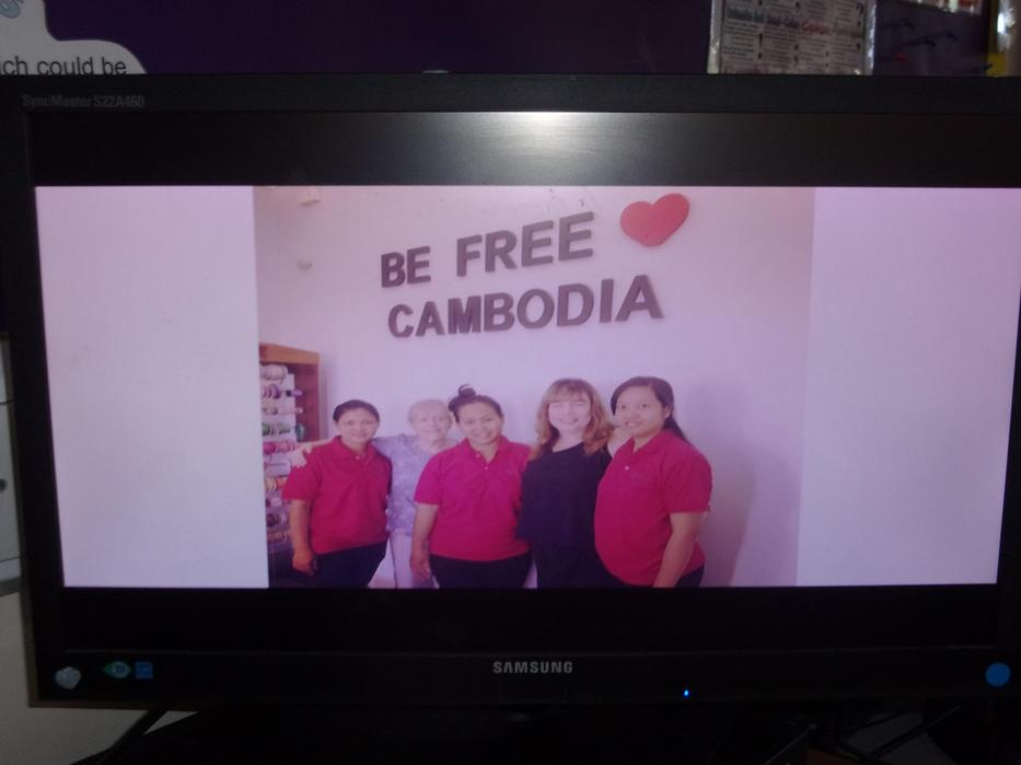 Be Free campaign by Elim Cambodia