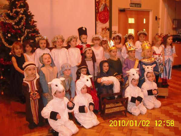 Christmas Production 2011 - Mary's Knitting