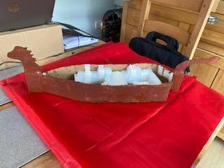 Josh Has Made A Great Start on his Longboat