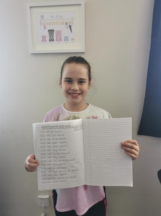 Keira's French Work On Time