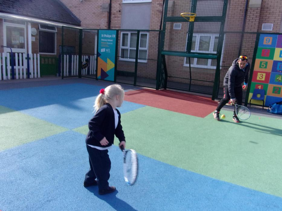 Tennis with Chris from Sphynx Tennis Club