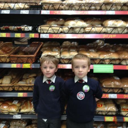 How many different types of bread did we find?